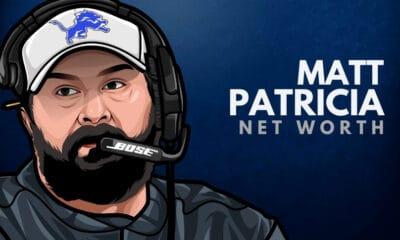 Matt Patricia's Net Worth