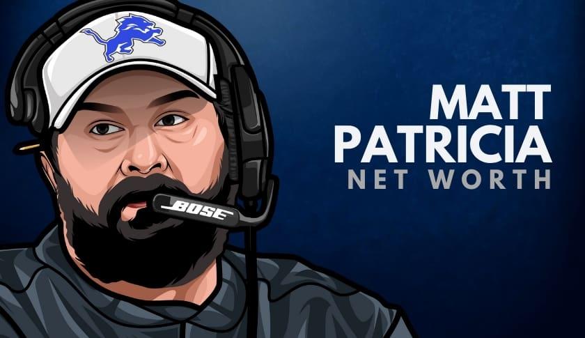 Matt Patricia Net Worth