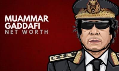 Muammar Gaddafi's Net Worth