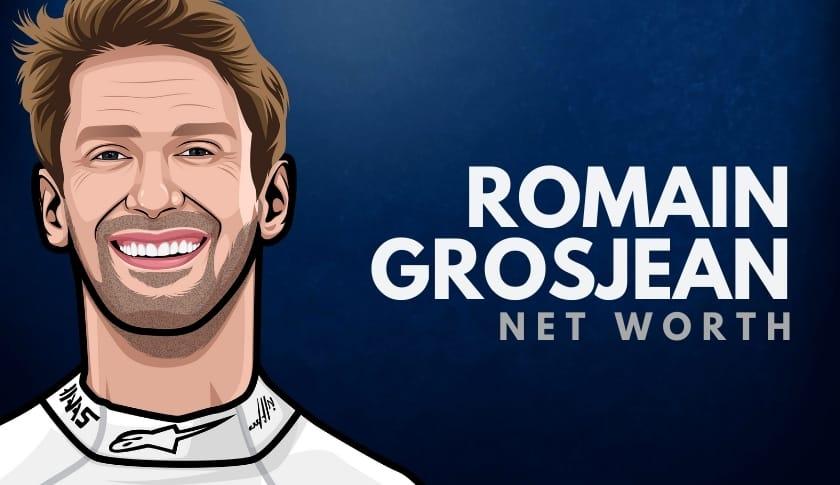 Romain Grosjean Net Worth