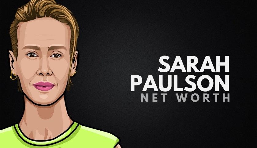 Sarah Paulson Net Worth