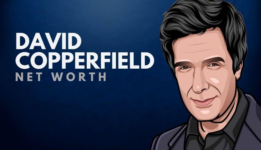 David Copperfield Net Worth