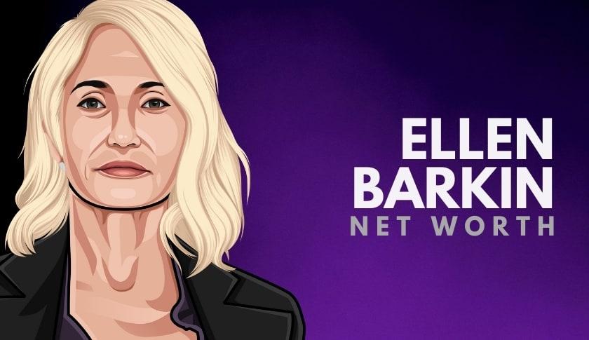Ellen Barkin Net Worth