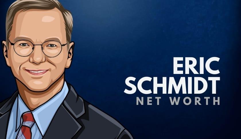Eric Schmidt Net Worth