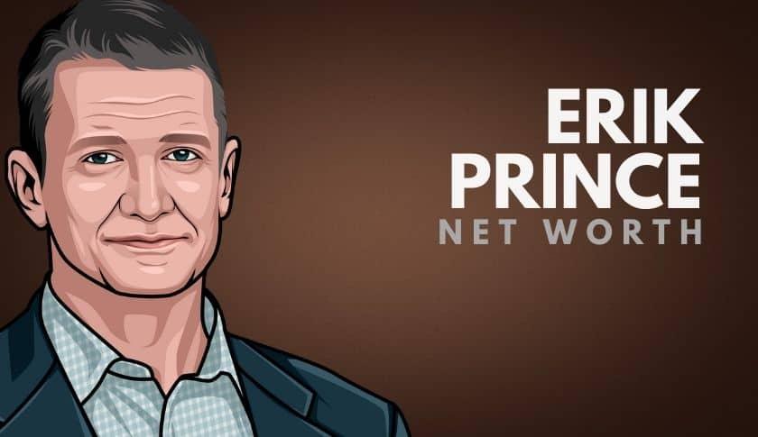 Erik Prince Net Worth