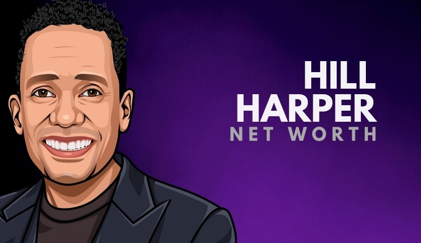 Hill Harper Net Worth