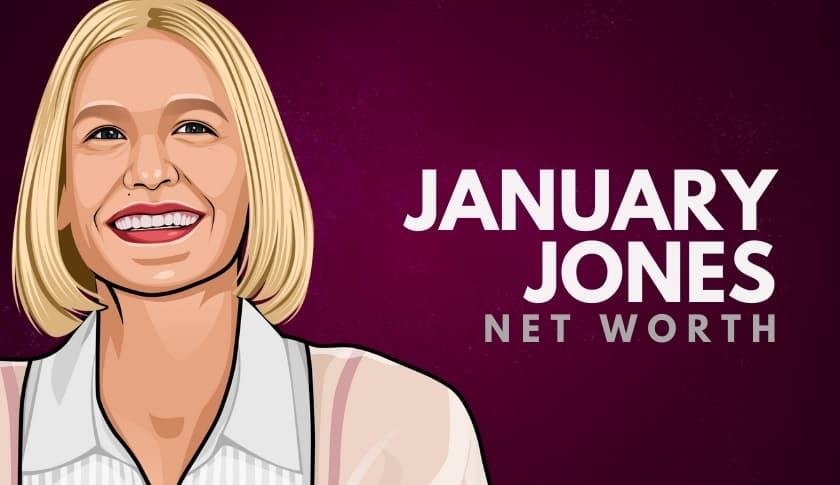 January Jones Net Worth