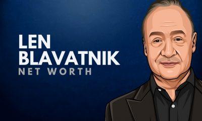 Len Blavatnik's Net Worth