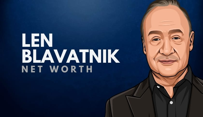 Len Blavatnik Net Worth