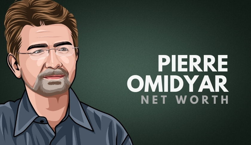 Pierre Omidyar Net Worth