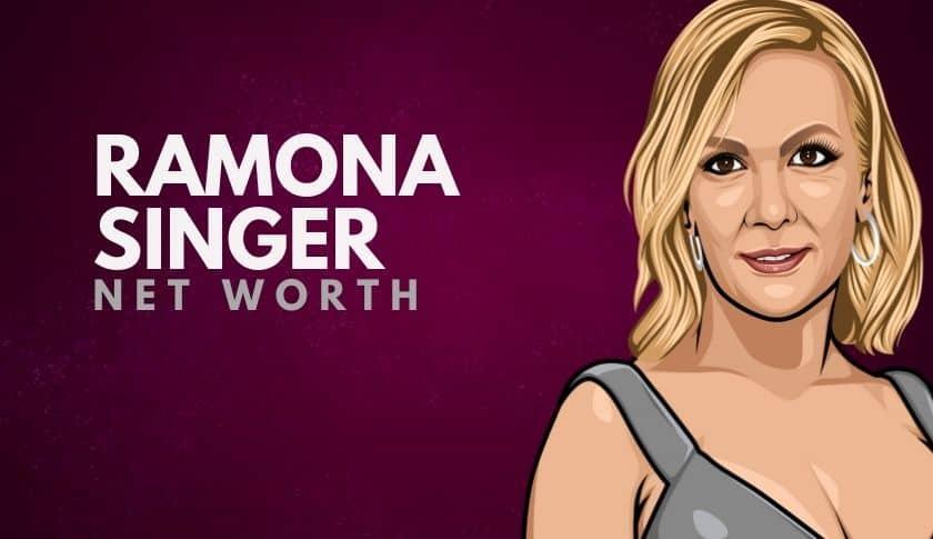 Ramona Singer Net Worth