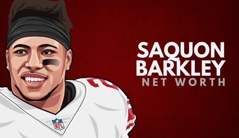 Saquon Barkley Net Worth