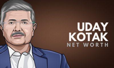 Uday Kotak's Net Worth