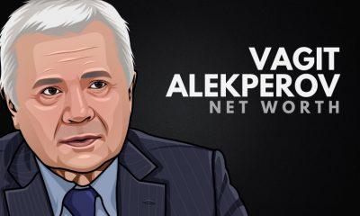 Vagit Alekperov's Net Worth