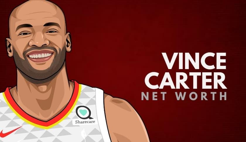 Vince Carter Net Worth