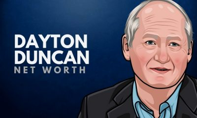 Dayton Duncan's Net Worth