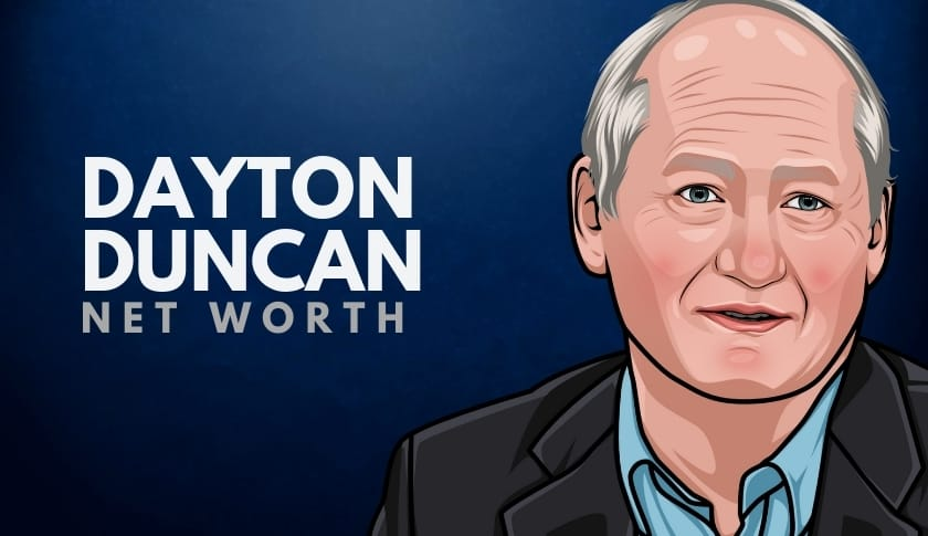 Dayton Duncan Net Worth