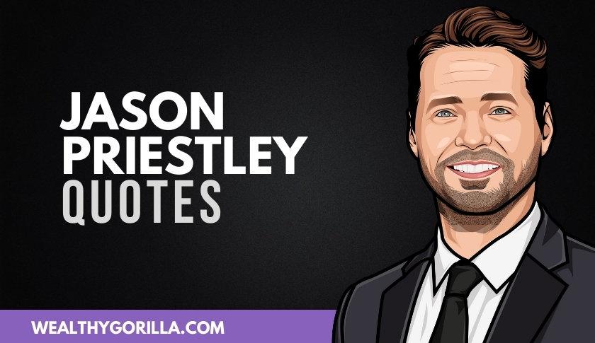 40 Amazing Jason Priestley Quotes