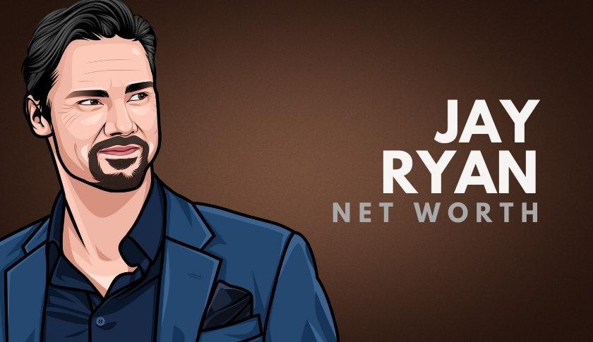 Jay Ryan Net Worth