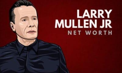Larry Mullen Jr's Net Worth