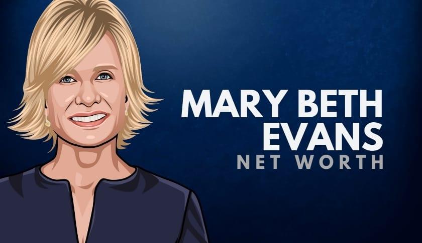 Mary Beth Evans Net Worth