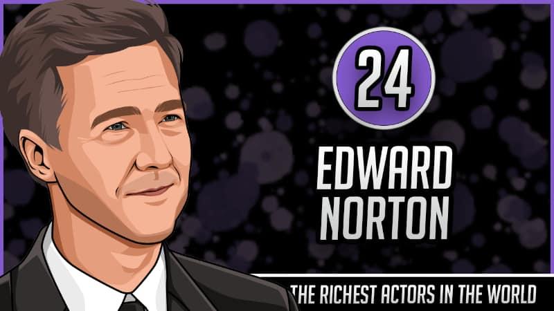 Richest Actors in the World - Edward Norton