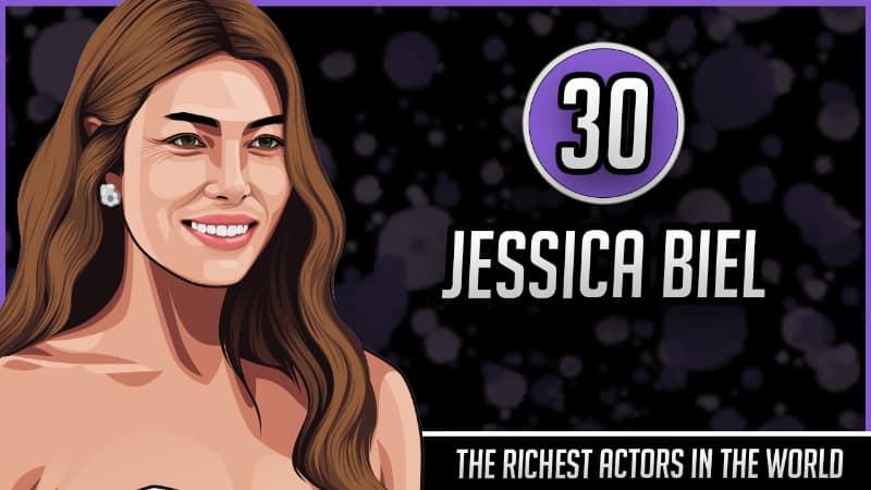 Richest Actors in the World - Jessica Biel