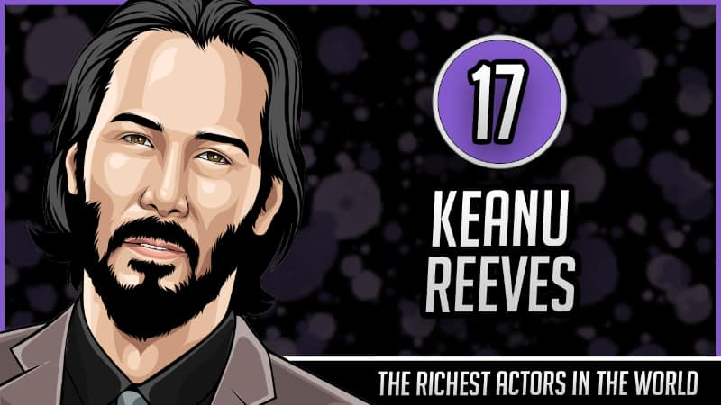 Richest Actors in the World - Keanu Reeves