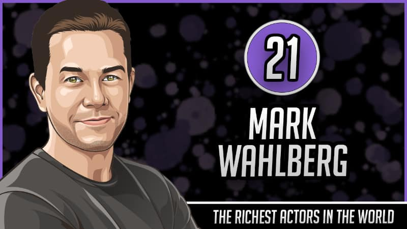 Richest Actors in the World - Mark Wahlberg