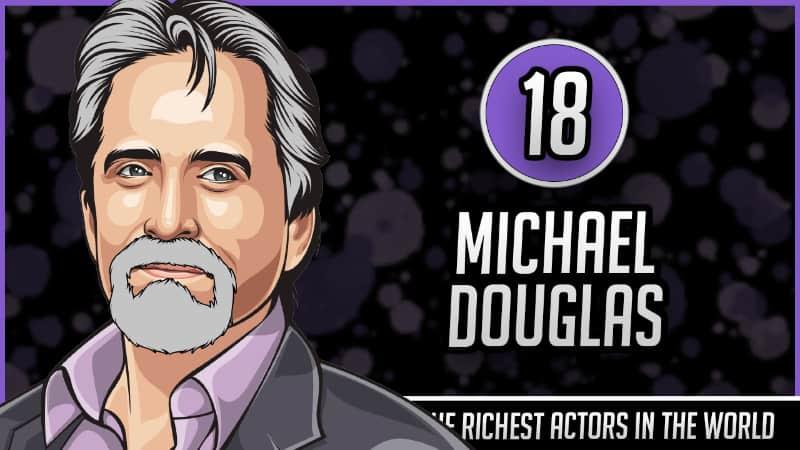 Richest Actors in the World - Michael Douglas