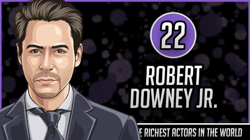 Richest Actors in the World - Robert Downey Jr