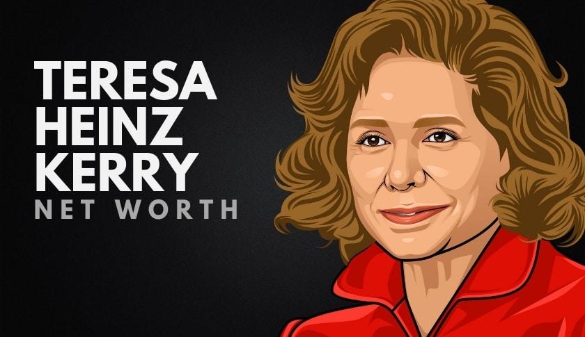 Teresa Heinz Kerry Net Worth