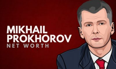 Mikhail Prokhorov's Net Worth