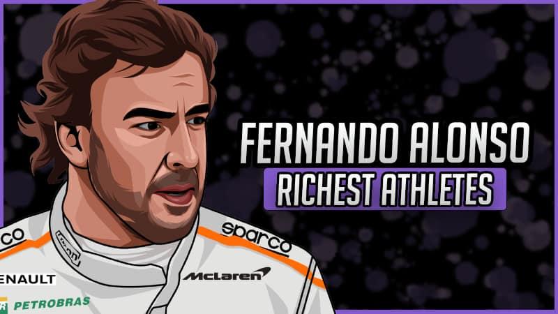 Richest Athletes - Fernando Alonso