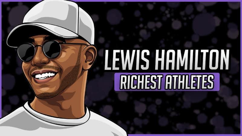 Richest Athletes - Lewis Hamilton
