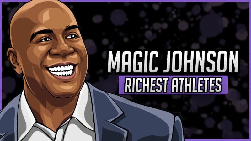 Richest Athletes - Magic Johnson