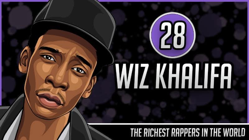 Richest Rappers in the World - Wiz Khalifa