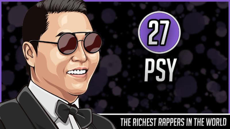 Richest Rappers in the World - PSY