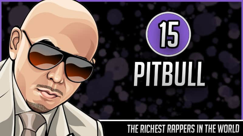 Richest Rappers in the World - Pitbull