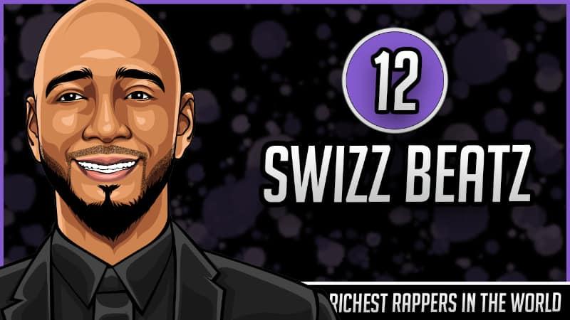 Richest Rappers in the World - Swizz Beatz
