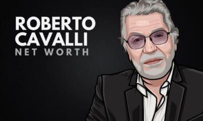 Roberto Cavalli's Net worth