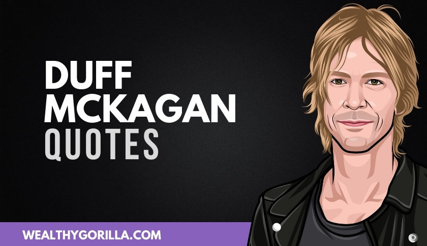 50 Famous Duff McKagan Quotes On Life & Music