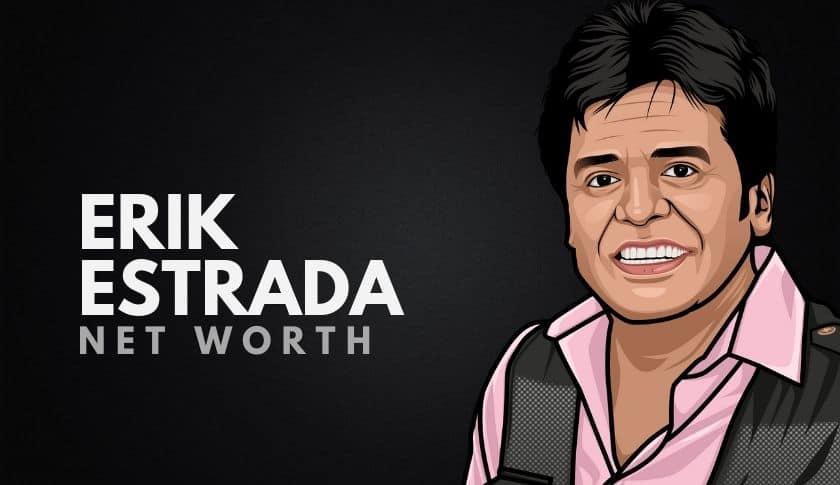 Erik Estrada Net Worth