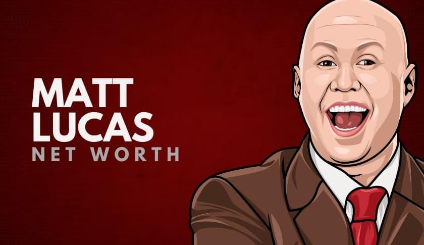 Matt Lucas Net Worth