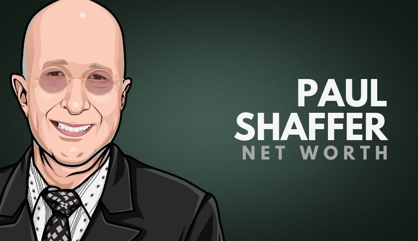 Paul Shaffer Net Worth