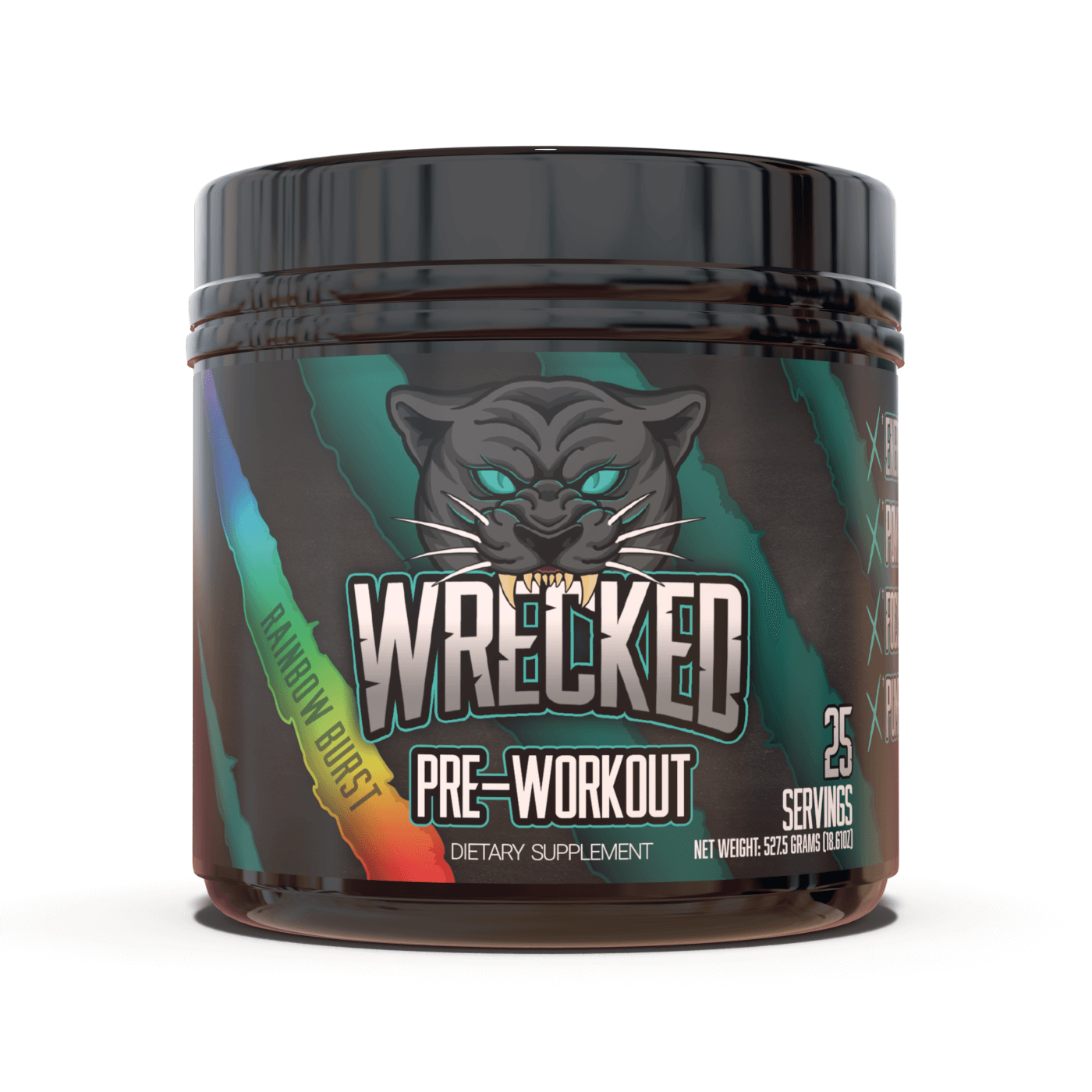 Wrecked Pre-Workout (25 Servings)