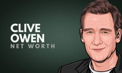 Clive Owen's Net Worth