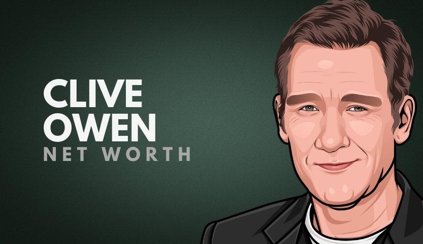 Clive Owen Net Worth