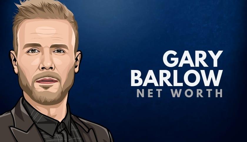 Gary Barlow Net Worth