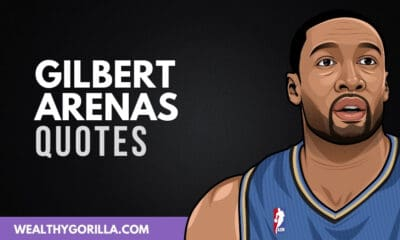 40 Gilbert Arenas Quotes About basketball & Success